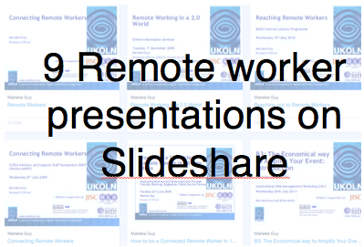 8 Slideshare presentations